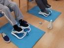 ステッパーを踏むことで、足首を柔らかくすると共にふくらはぎの筋肉を鍛え血液の循環を良くします。